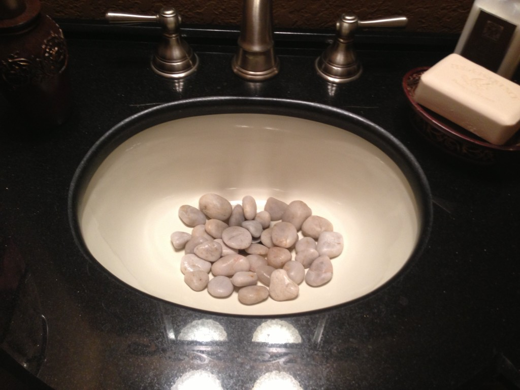 What Does it Mean to Have Pebbles in the Guest Bathroom 1