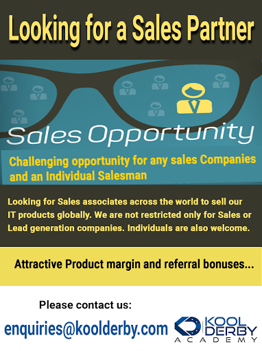 Looking for a Sales Partner